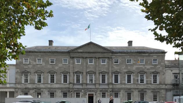 Leinster House in Dublin Ireland
