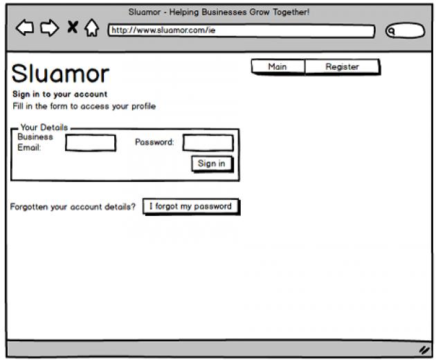 Example Sluamor Wireframe | Credit: Sluamor