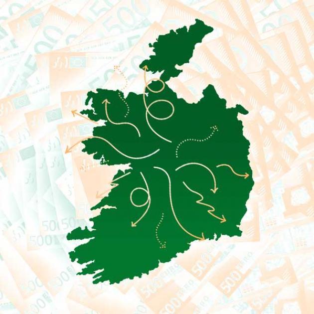 A map of Ireland | Credit: Robert Thompson