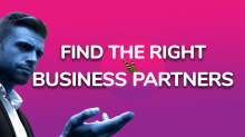 Thumbnail for the video entitled Find the right business partners